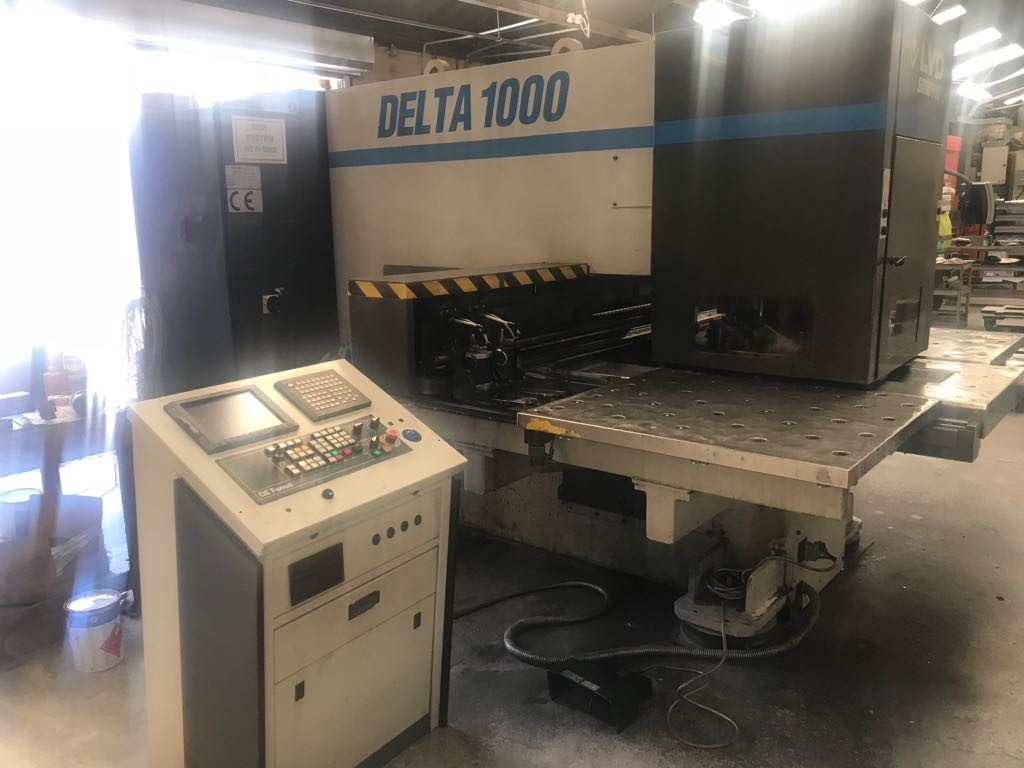 LVD shape DELTA 1000 CNC turret punch