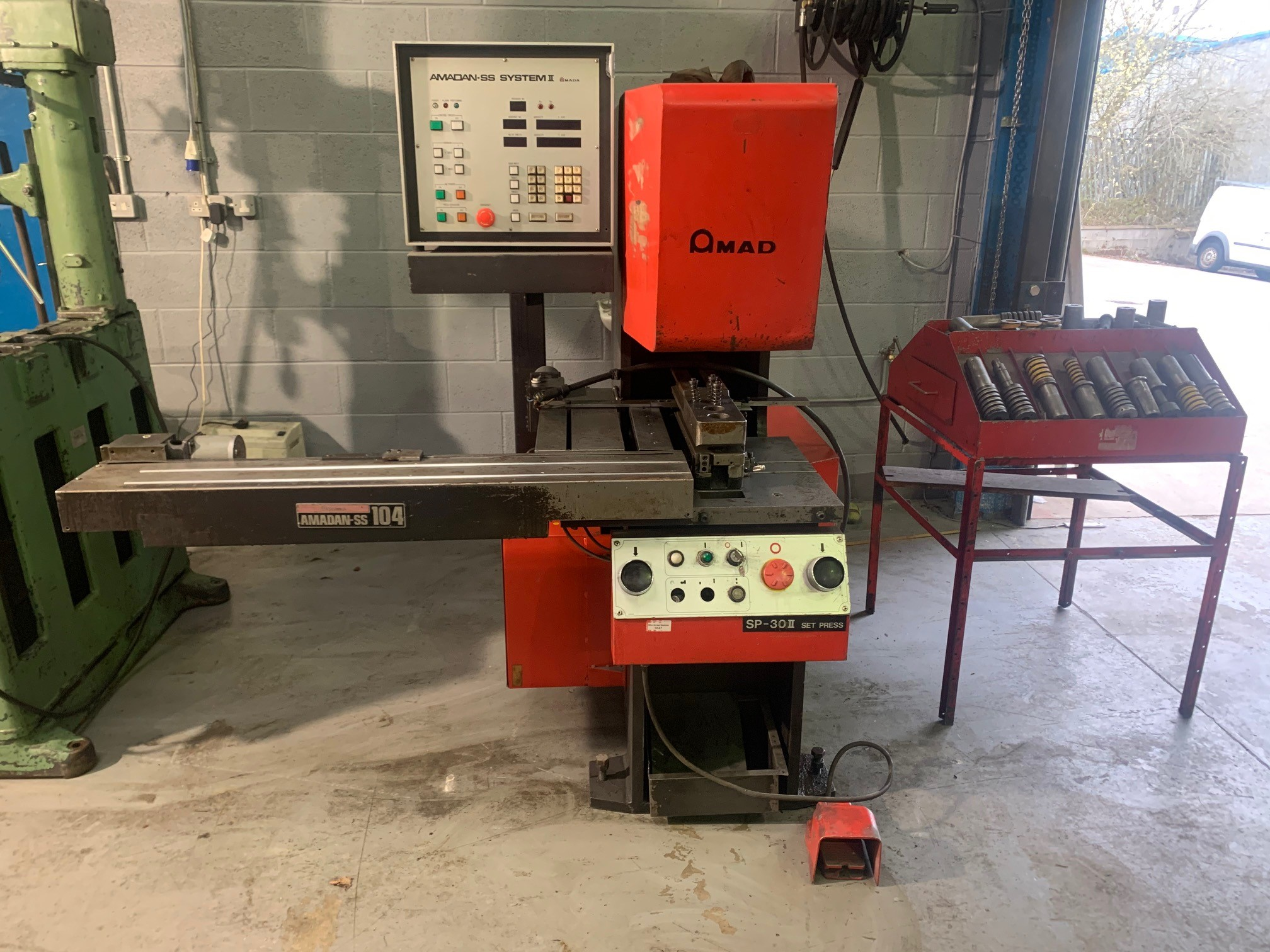 AMADA SP30 Punch press with CNC control