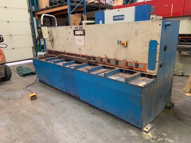 MEGAFORM 3m x 6mm Variable Angle shear  year 2000
